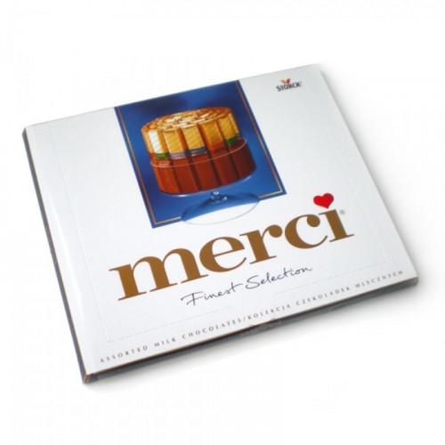 Конфеты Merci 250 г от FlorPresent