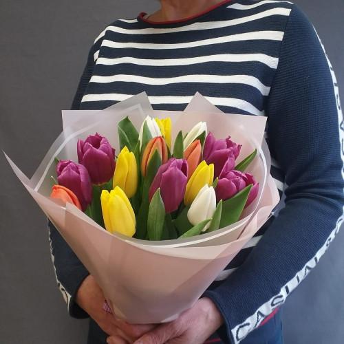 15 тюльпанов  от FlorPresent