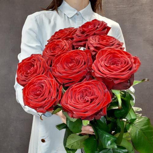 Элитные красные розы  от FlorPresent