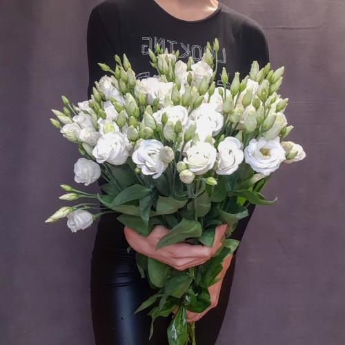 Белая эустома от FlorPresent